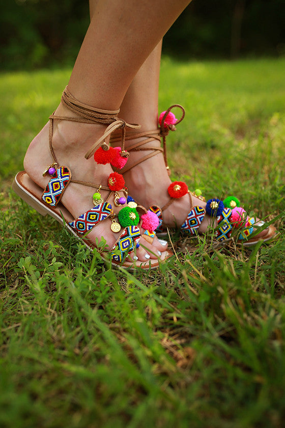 Posh Beaded Sandal