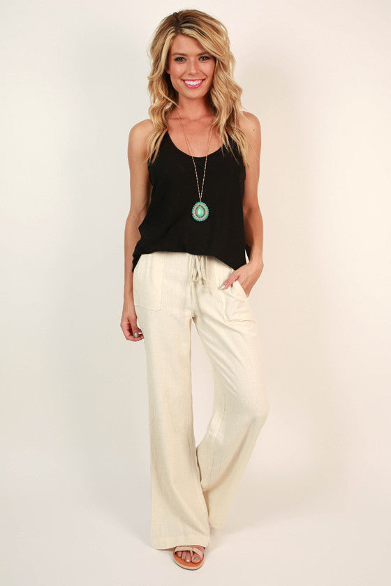 Living The Dream Linen Pant