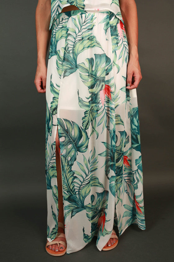 Palm Springs Princess Maxi Skirt