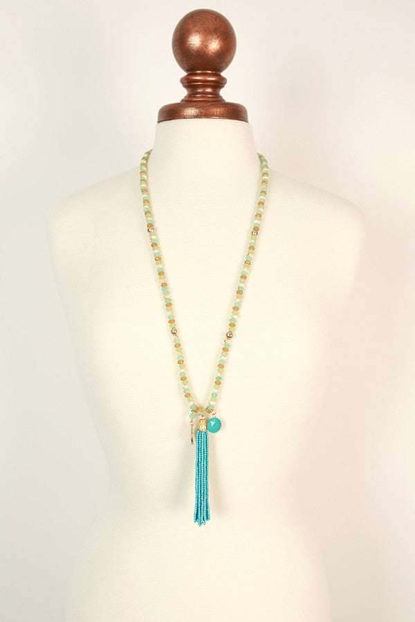 Charmingly Cute Tassel Necklace