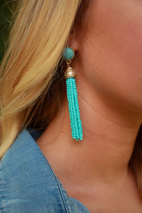 Meet & Greet Tassel Earrings