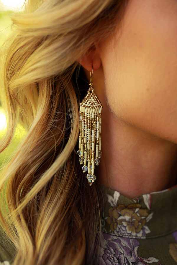 Dance All Night Tassel Earrings