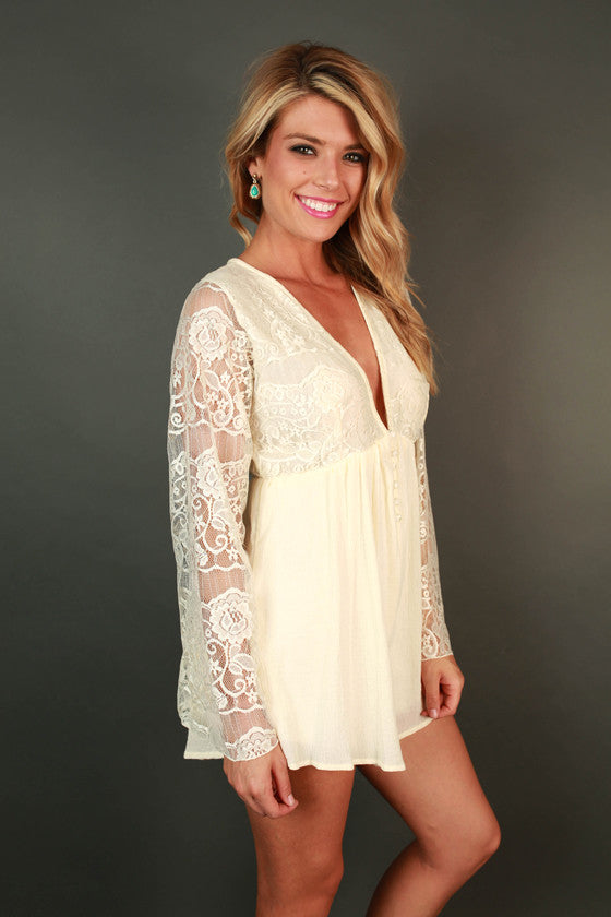 All For Love Lace Romper
