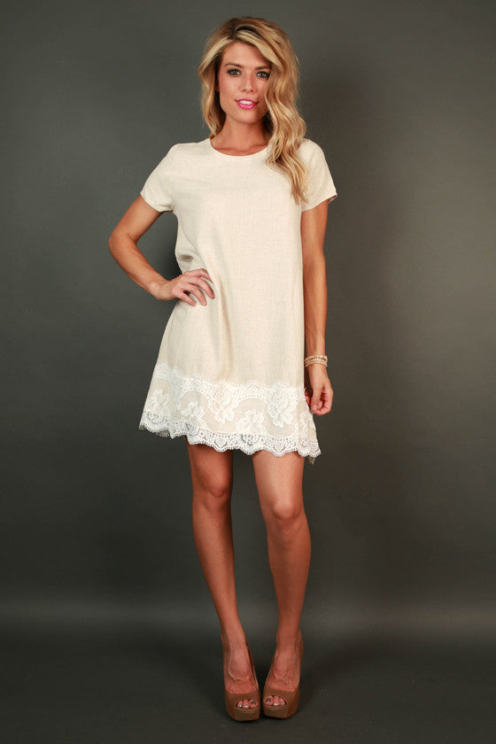 Lace For Days Shift Dress