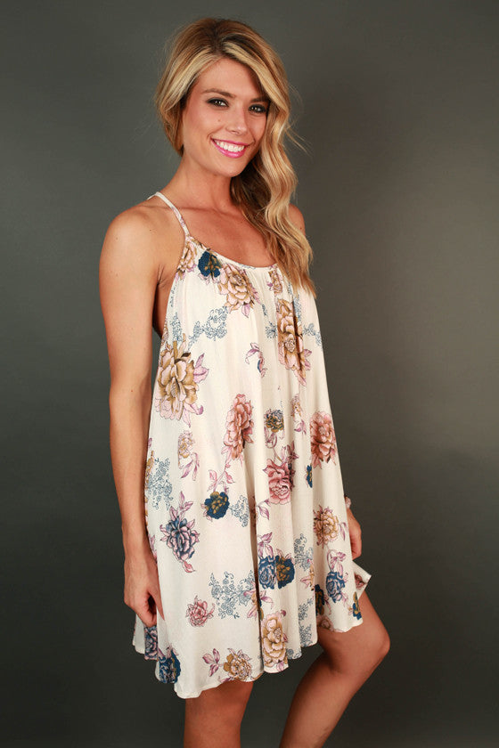 Miss Daisy Floral Dress