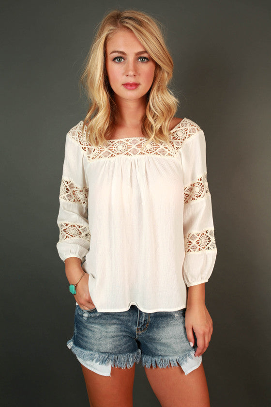 Antigua Adventure Off Shoulder Top