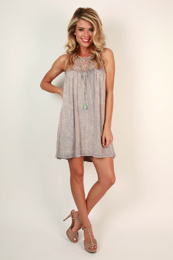 Memory Lane Shift Dress