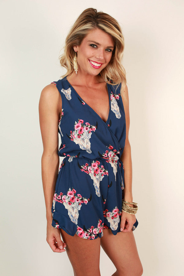 Southwest Sweetheart Romper