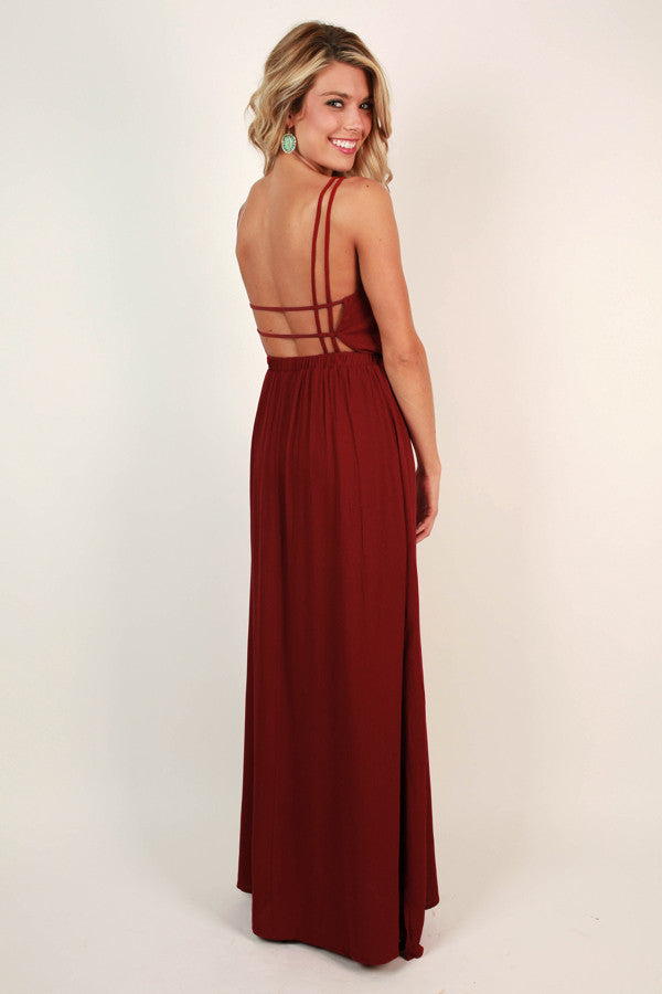 Ciao Bella Maxi in Crimson
