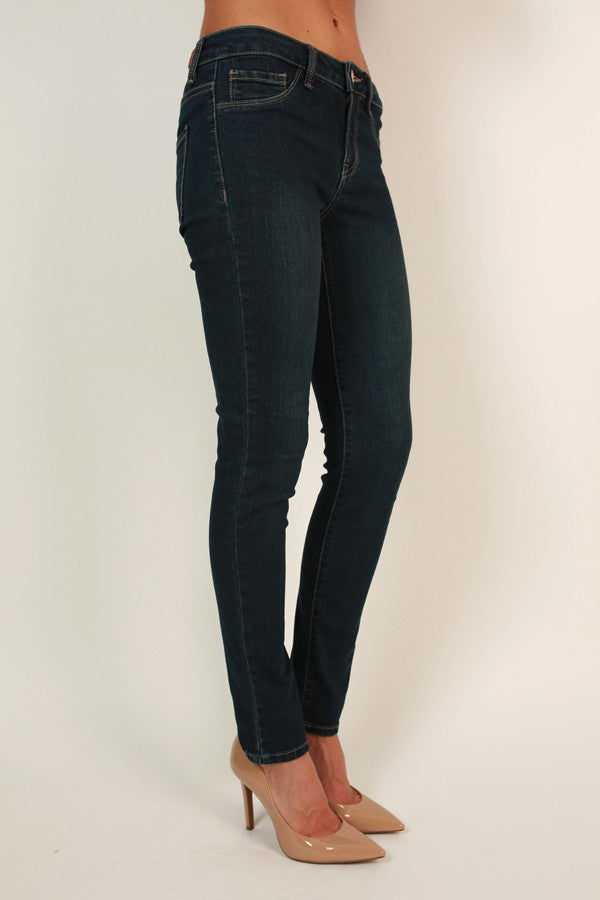 The Standout Skinny in Dark Blue