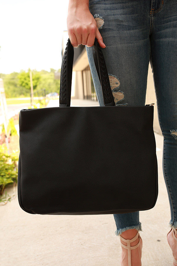 Back To Basics Tote in Black