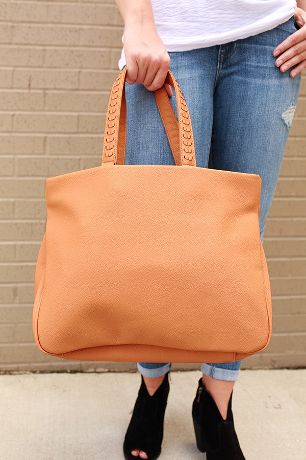 Back To Basics Tote in Tan
