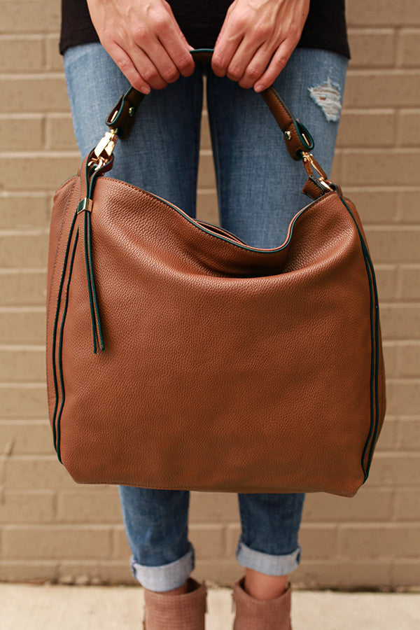 The Traveler Tote in Maple