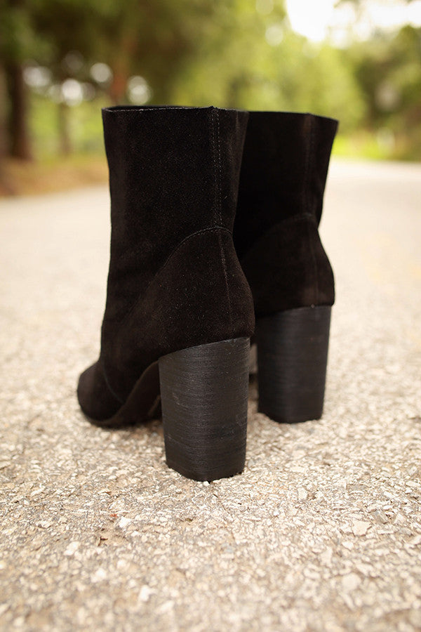 Tom Girl Peep Toe Bootie
