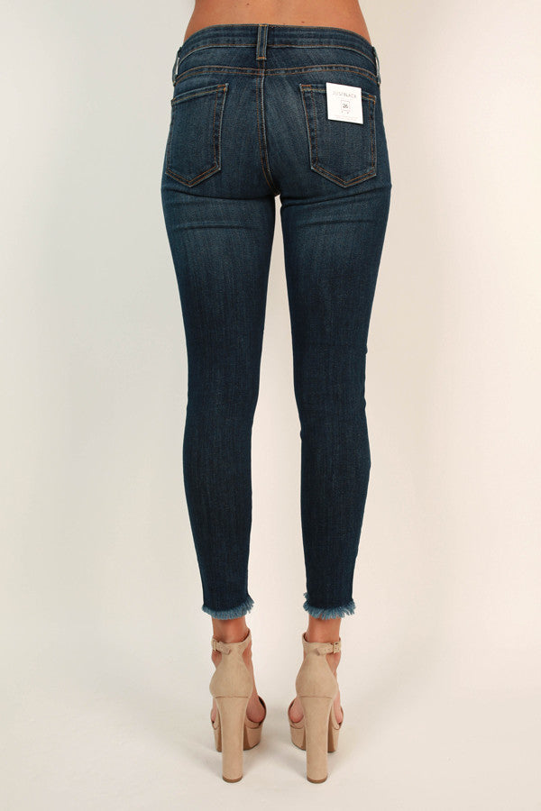 Luxe Lifestyle Skinny in Dark Wash