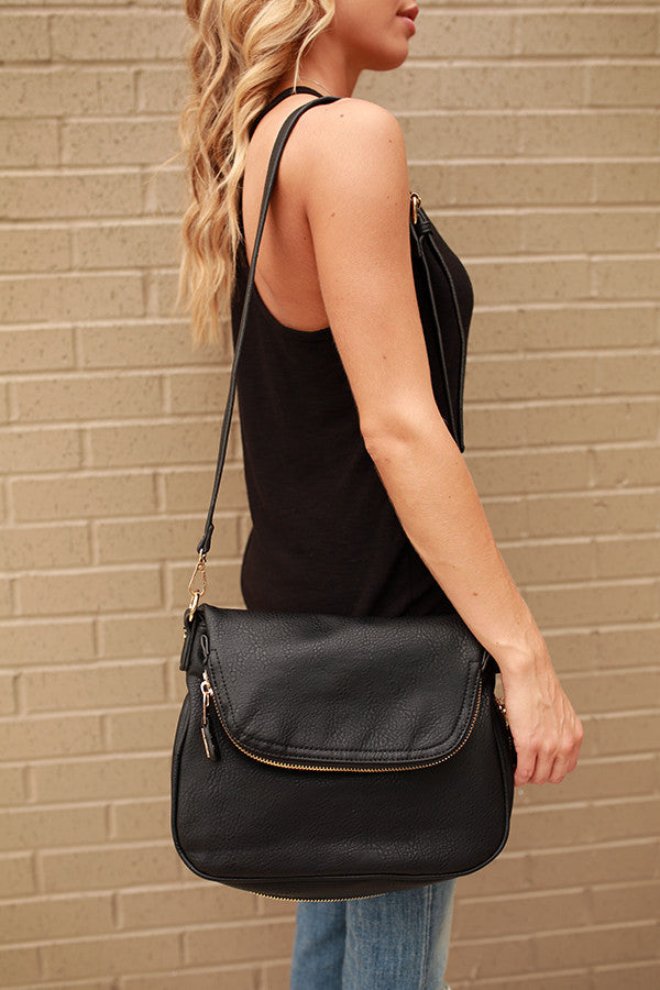 Great Expectations Crossbody in Black