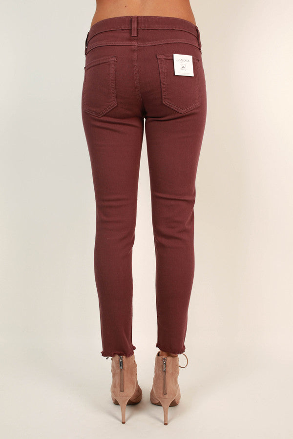 Luxe Lifestyle Skinny in Rustic Rose