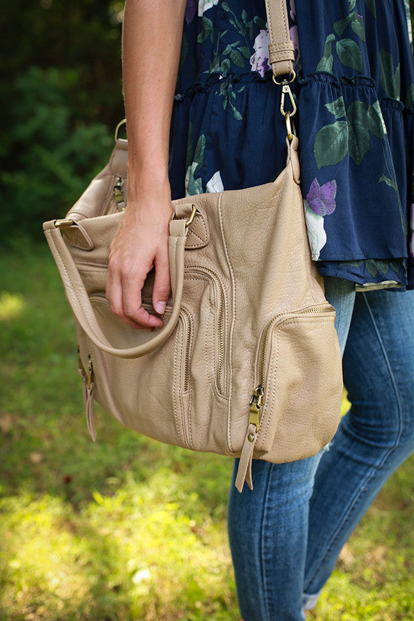 The Adventure Bag in Birch