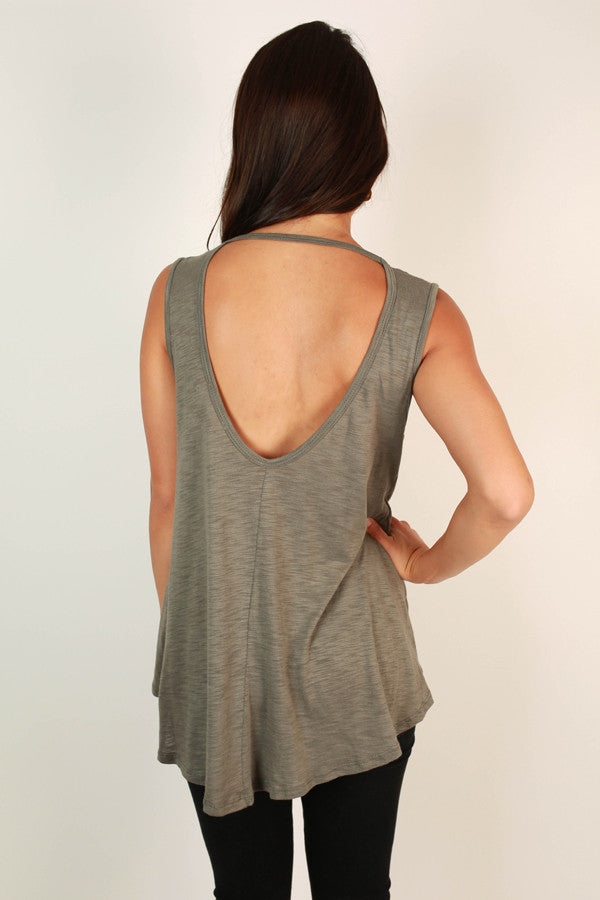 Blissful & Beautiful Shift Tank