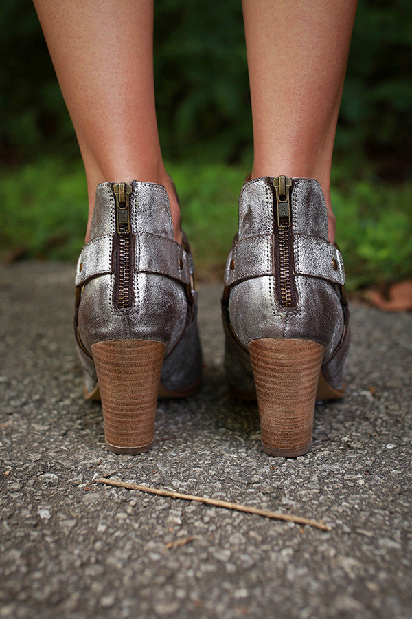 Impossible Bootie in Pewter