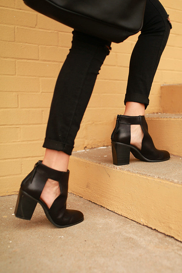 Combust Bootie In Black