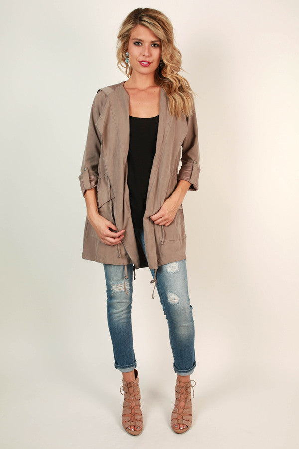 Cozy in Manhattan Lightweight Jacket