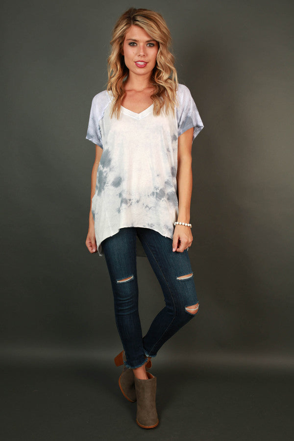 Dawn & Dusk Tie Dye Top
