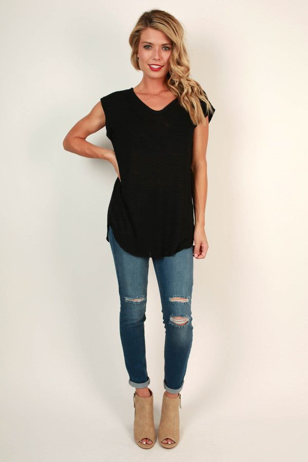 Born This Way Tee in Black