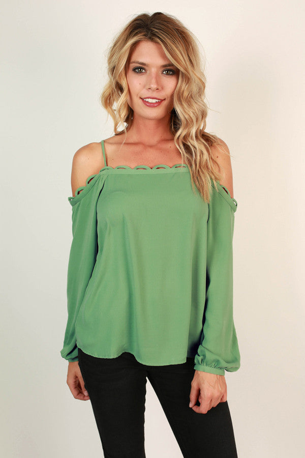 Carry Me Away Off Shoulder Top