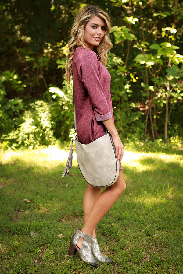 Endless Style Tunic in Crimson