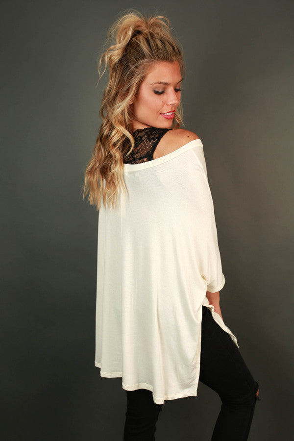 Always Perfect Tee in Ivory