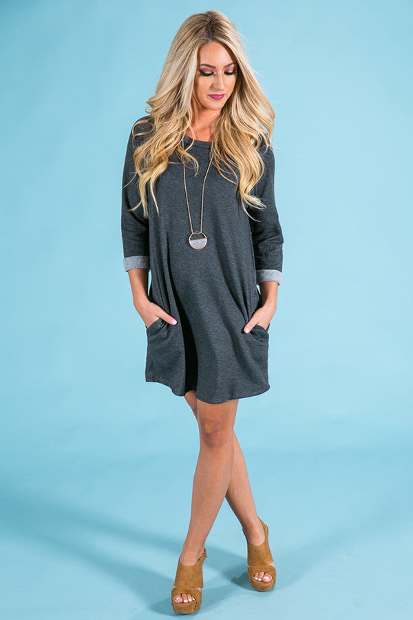 Endless Style Tunic in Charcoal