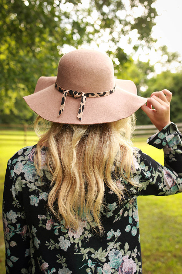 The Fashionista Hat in Warm Taupe