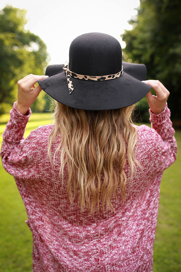 The Fashionista Hat in Black