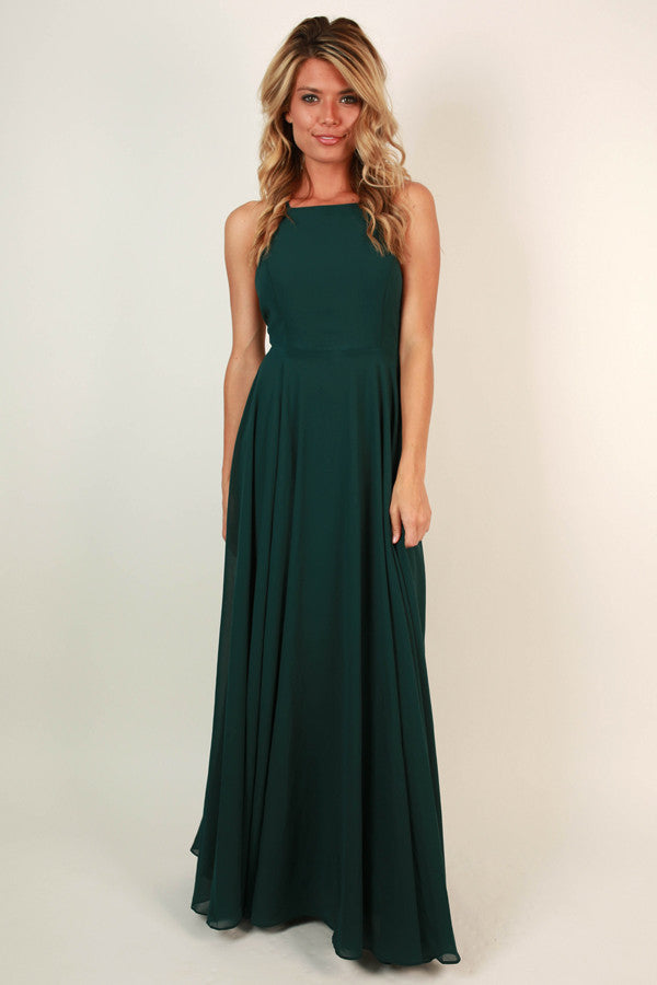 Fallin' In Love Maxi Dress in Lush Meadow