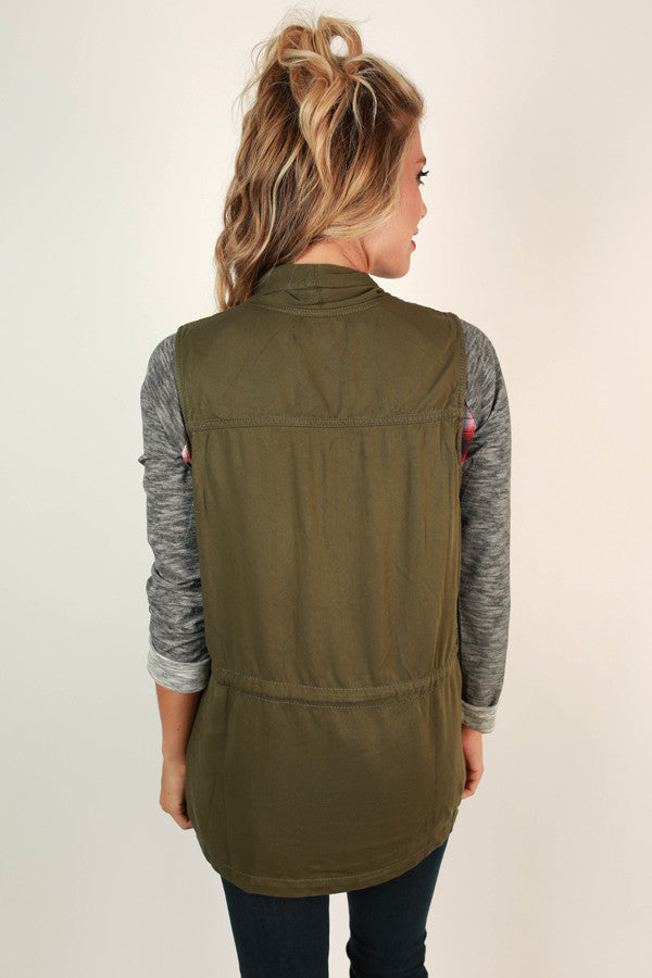 Take The Road Less Traveled Vest