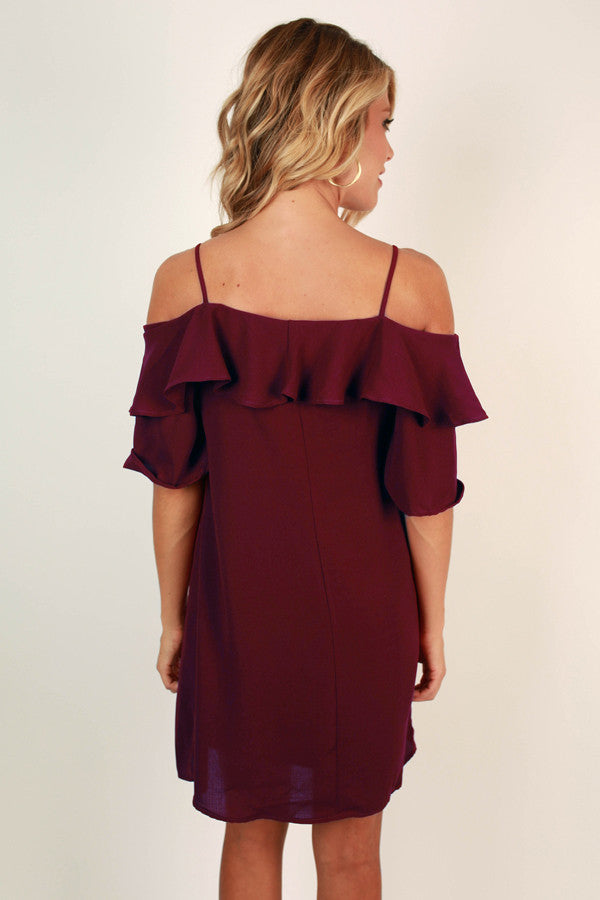 Soho Chic Off Shoulder Dress
