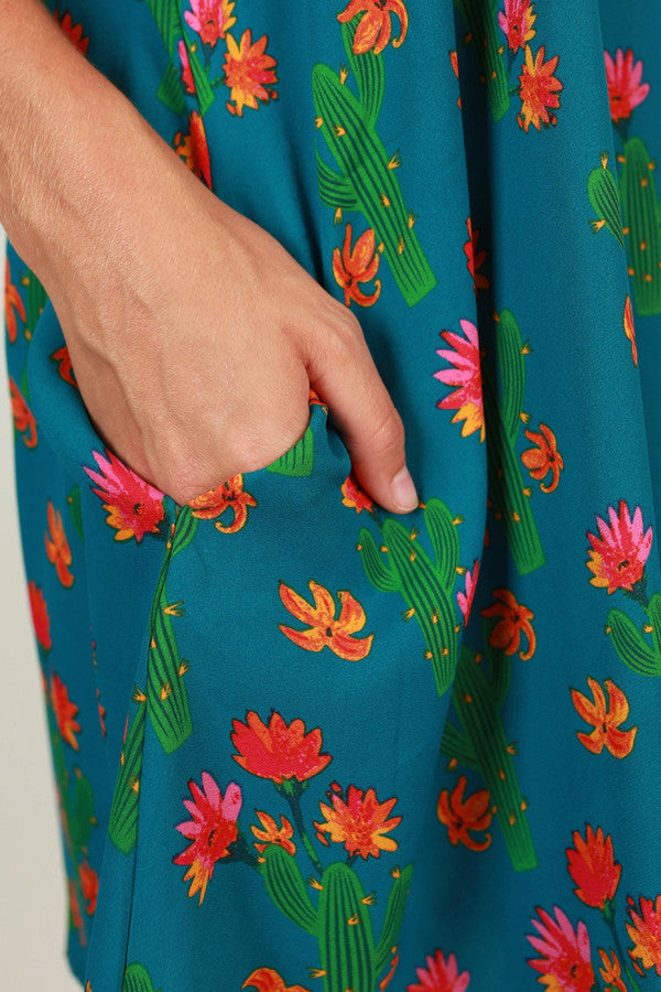 Cactus Makes Perfect Shift Dress