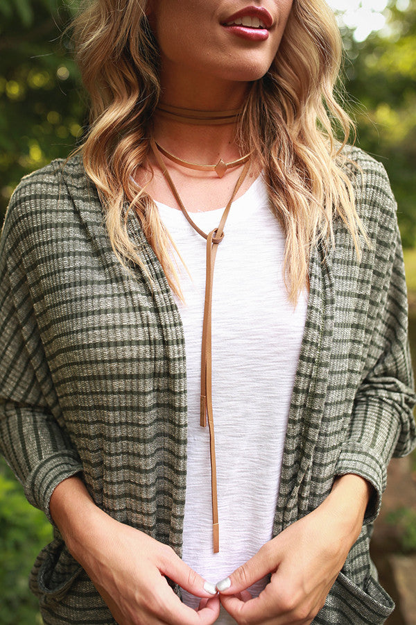 A Path Less Traveled Choker Necklace