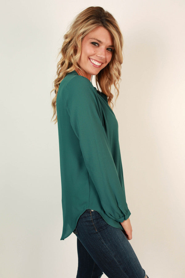 Juniper Darling Top in Lush Meadow