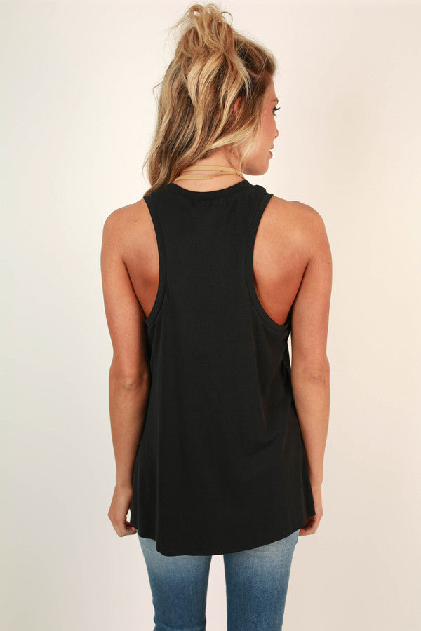 Keeping It Gorgeous Tank in Black