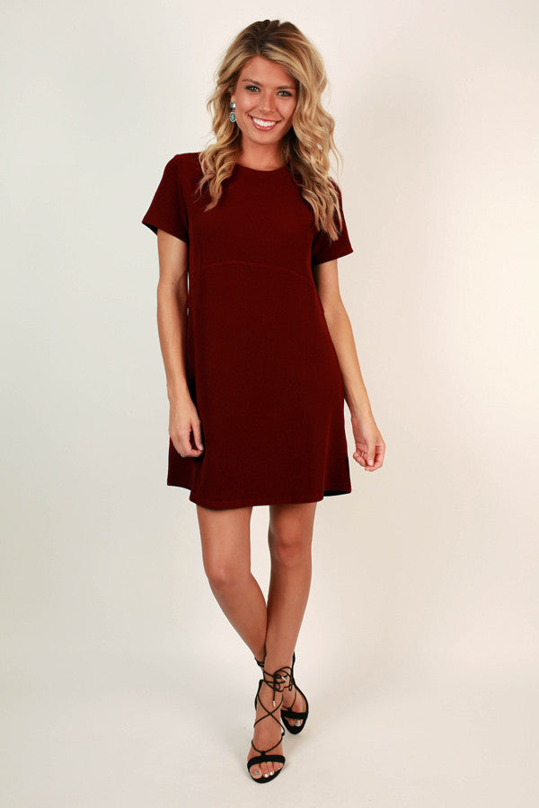 Drama and Dreams Shift Dress