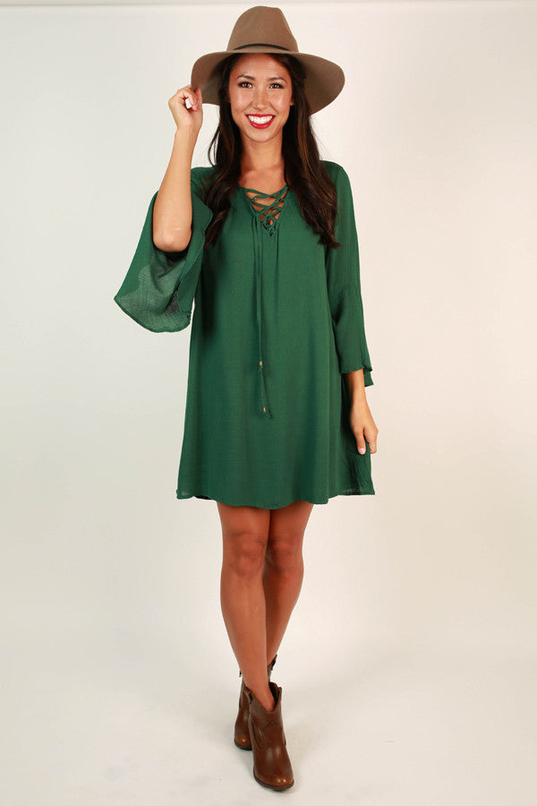 Sweet Southern Sangria Shift Dress