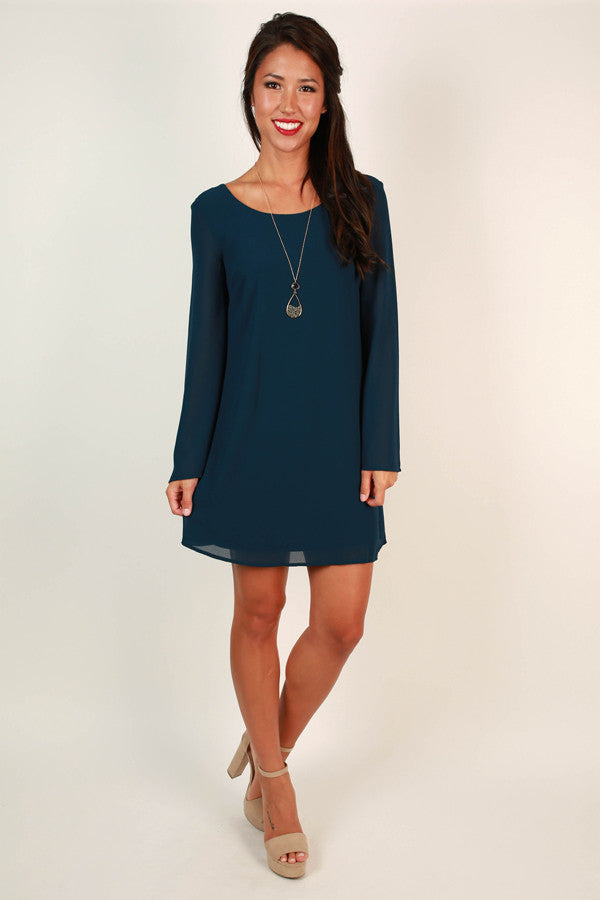 A Southern Season Shift Dress in Riverside