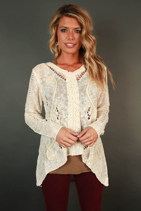 Cappuccino Cozy Sweater