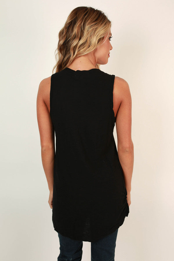 Backstage Passes Tank In Black