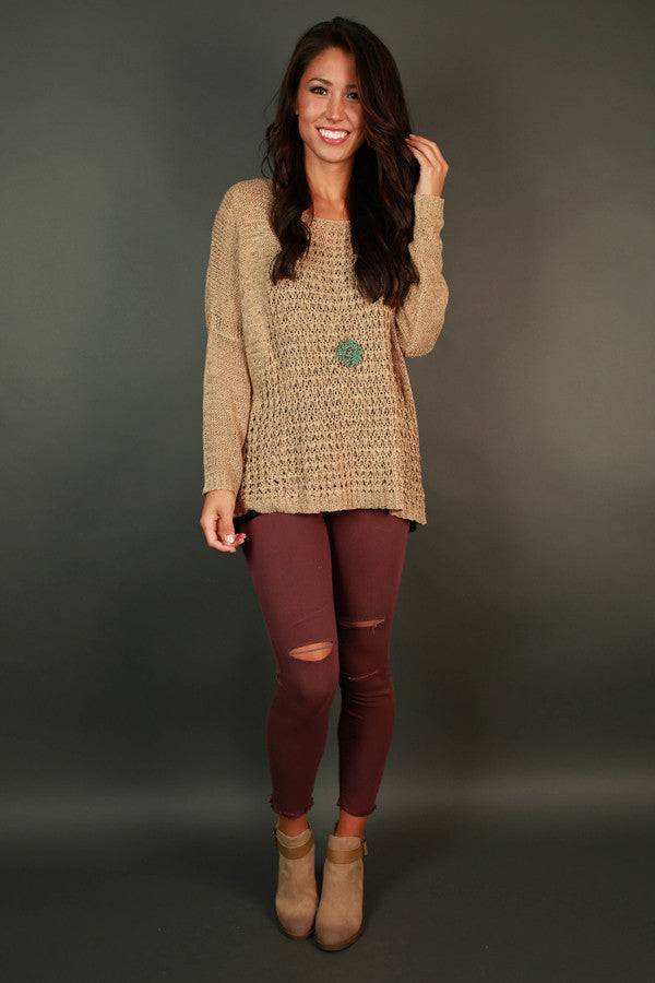 Love and Lush Sweater