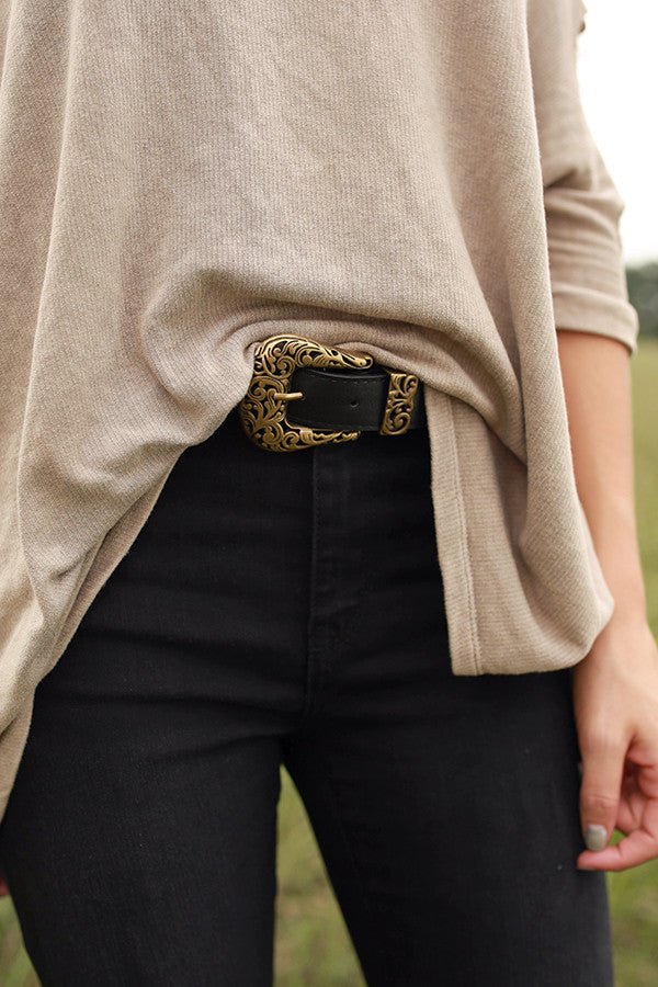 Best In Beauty Belt in Black
