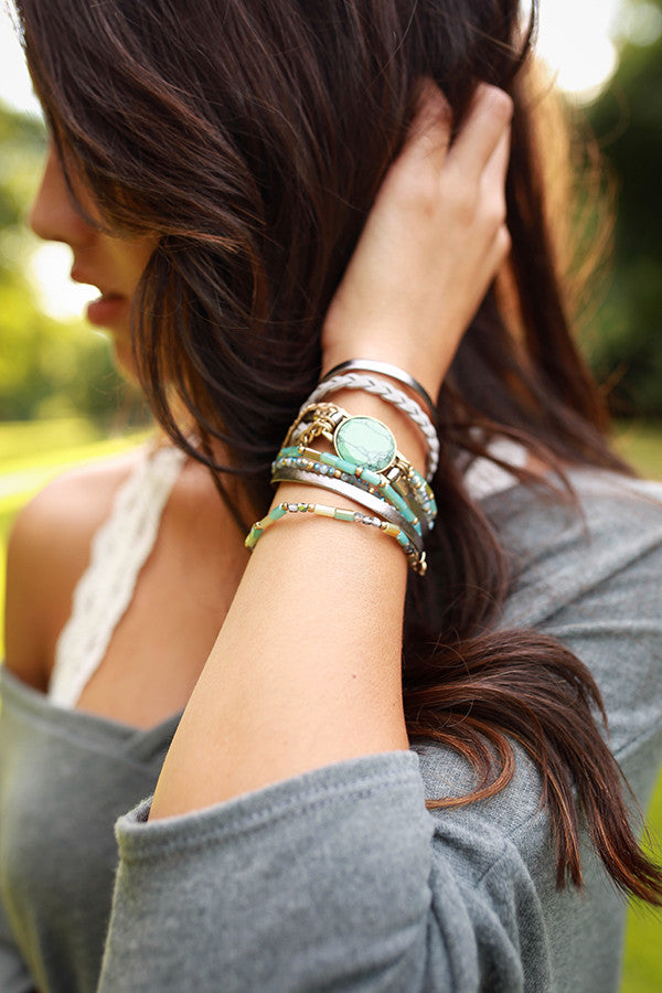 Blissful Day Wrap Bracelet