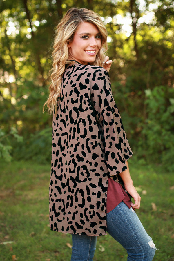 Lush Living in Leopard Overlay